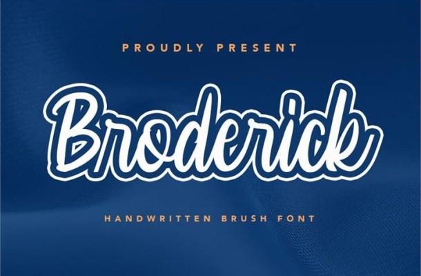 Broderick Font
