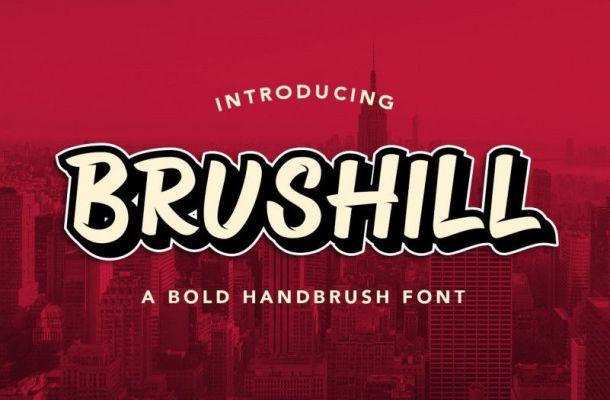 Brushill Font