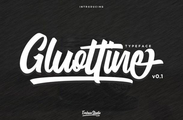 Gluottine Font