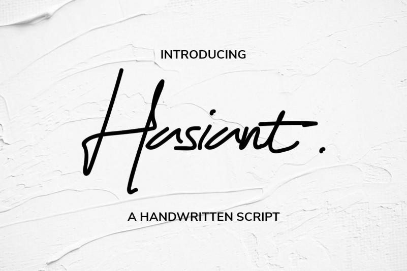 hasiant-handwritten-font-1