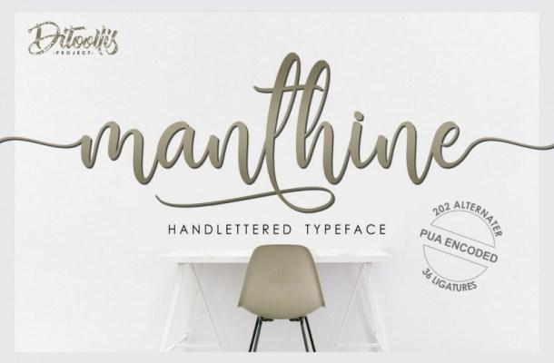 Manthine Font