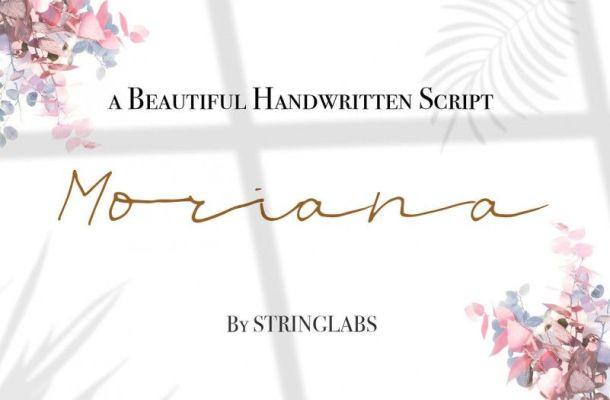 Moriana Font