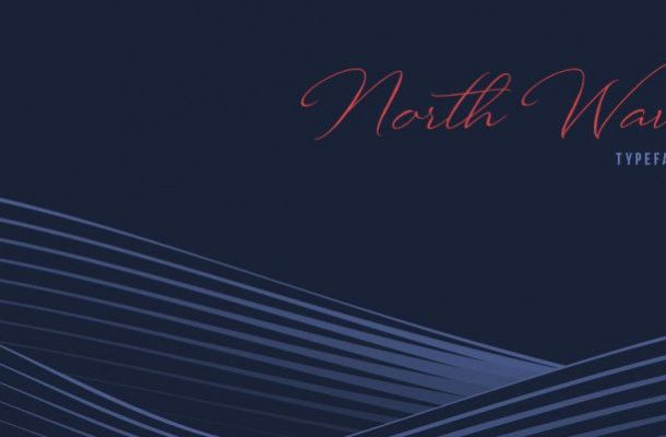 North Wave Font