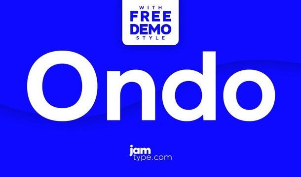 Ondo Font Family