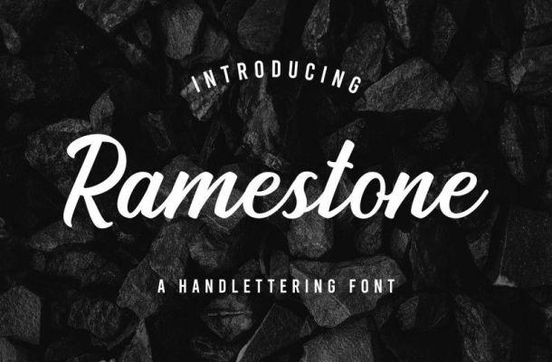 Ramestone Font