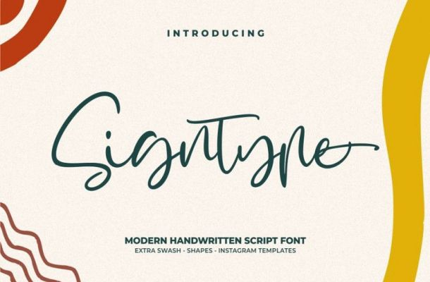 Signtype Script Font