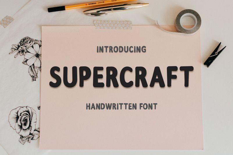 supercraft-free-font-1