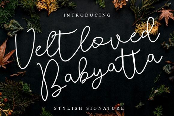 Veltloved Babyatta Font