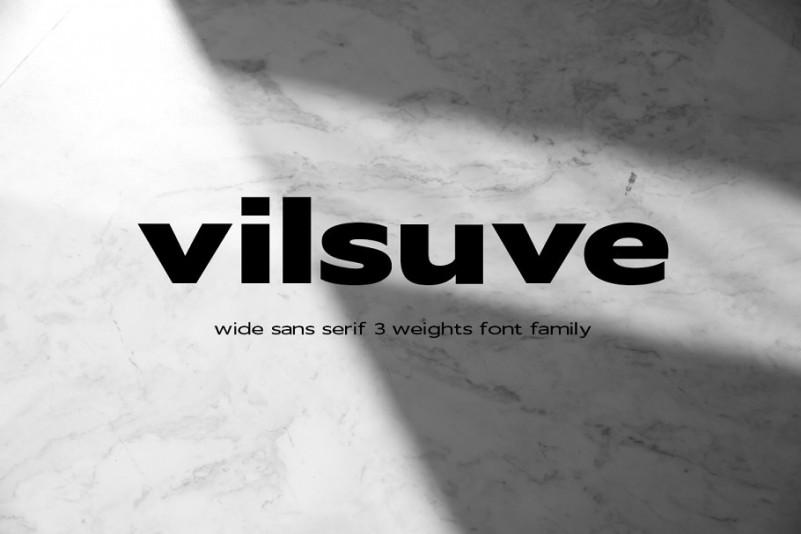 vilsuve-sans-font-family-1