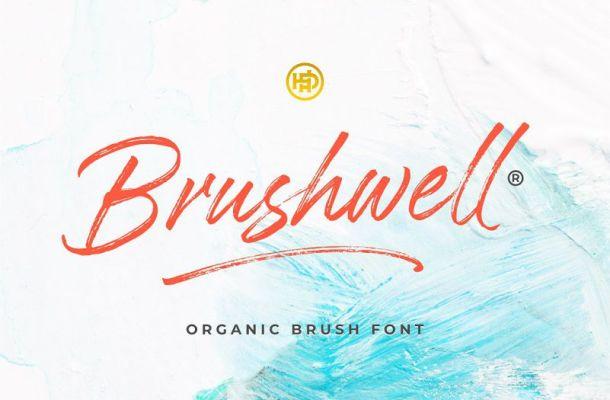 Brushwell Font