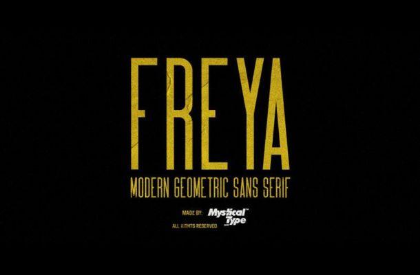 FREYA Font Family