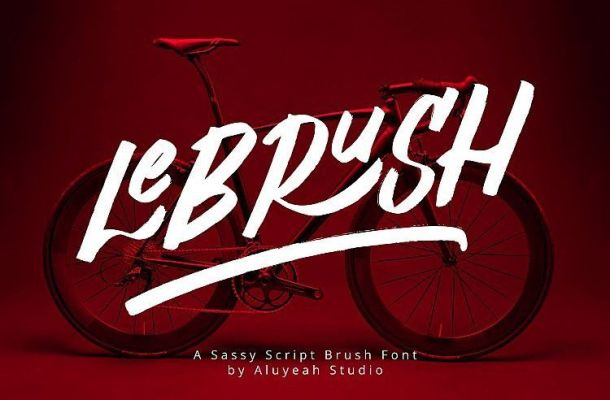 Al LeBRUSH Font