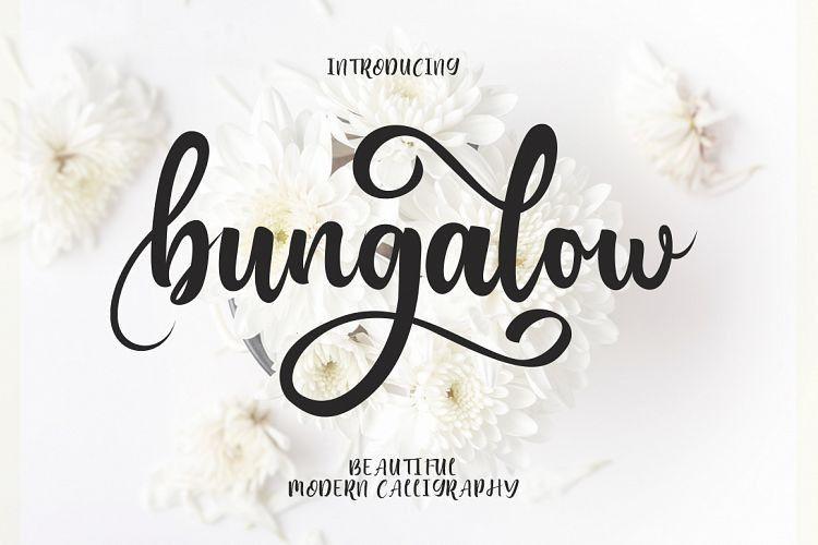 bungalow-font-1