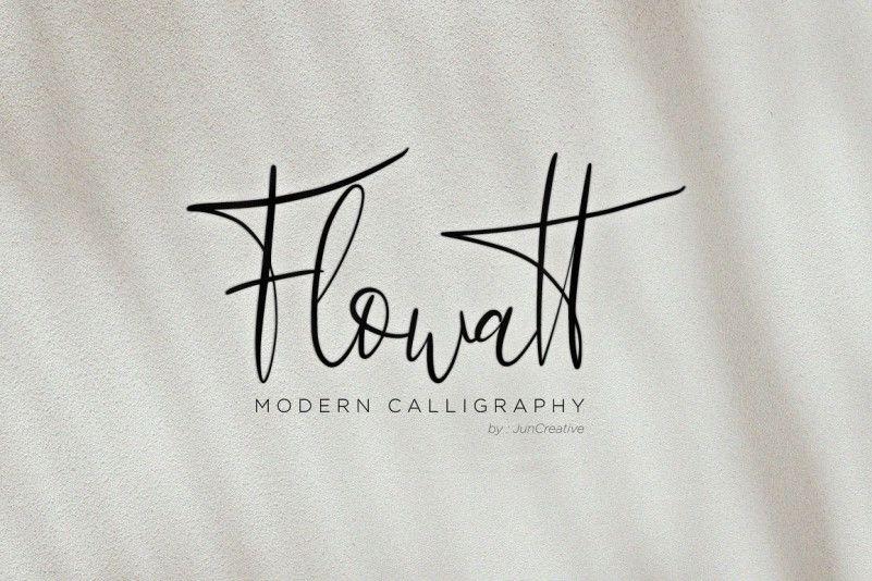 flowatt-script-font-1