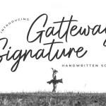 Gatteway Font