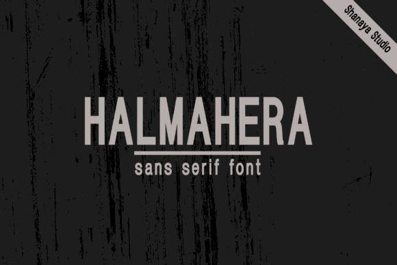 halmahera-sans-serif-font