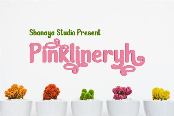 pinklineryh-font