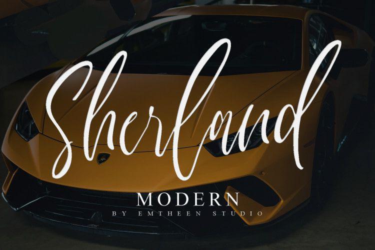 sherland-script-font