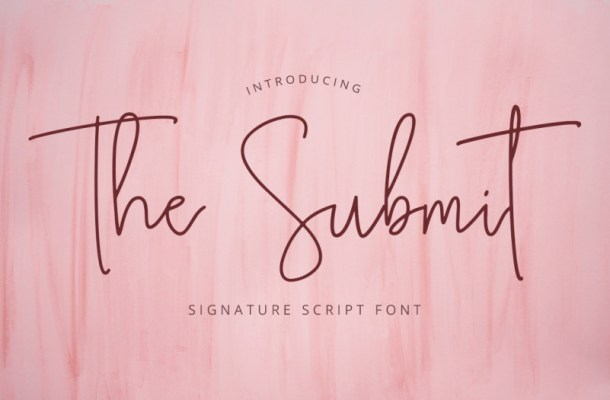 The Submit Font