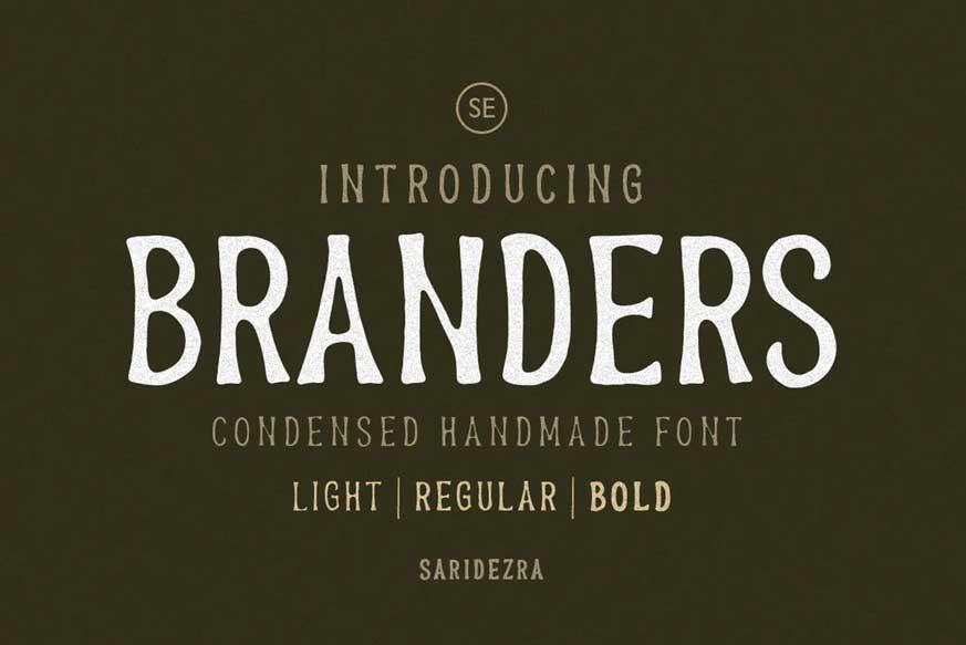 Branders-font