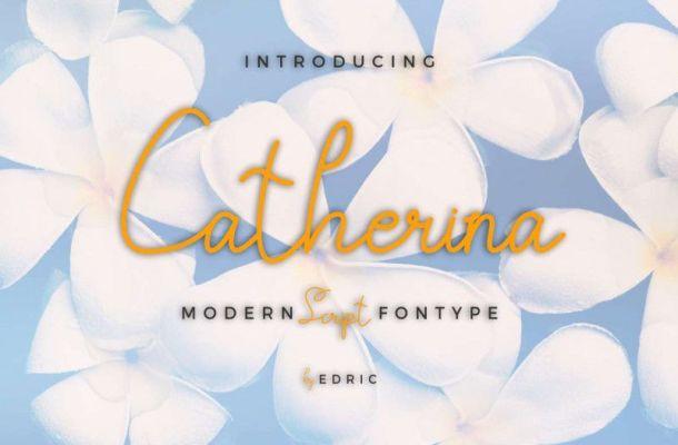 Catherina Script Font