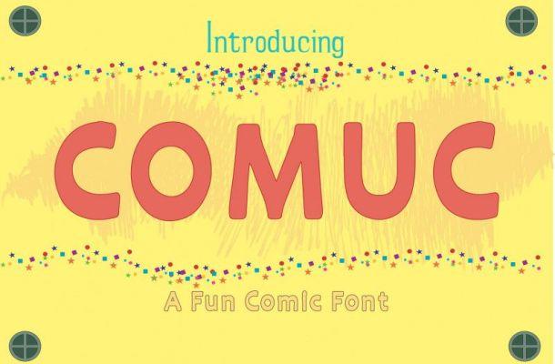 Comuc Font