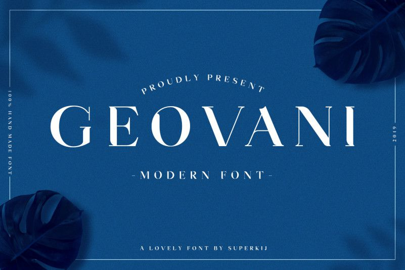 Geovani Modern Font