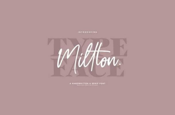 Millton Font Duo