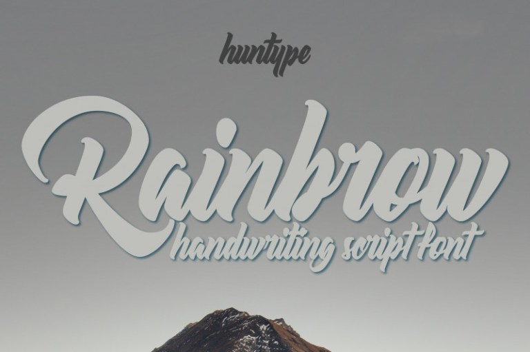 Rainbrow Font