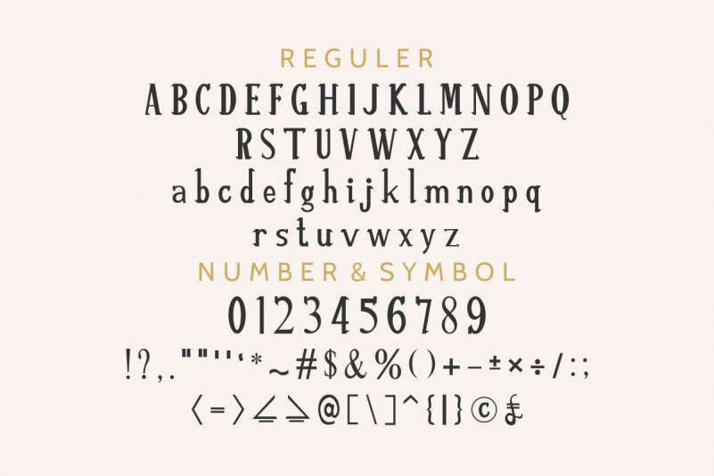 Re'shawn Vintage Font-2