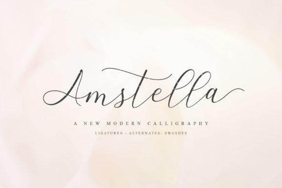 Amstella Font