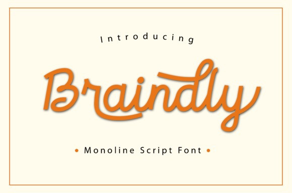 Braindly Font