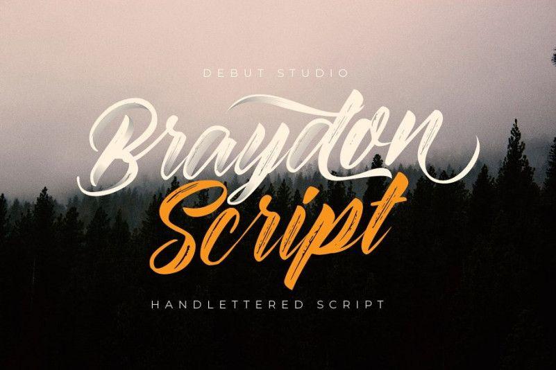 braydon-script-font