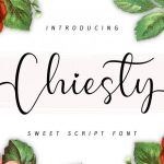 Chiesty Font