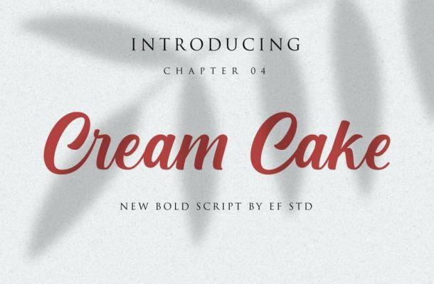 Cream Cake Font