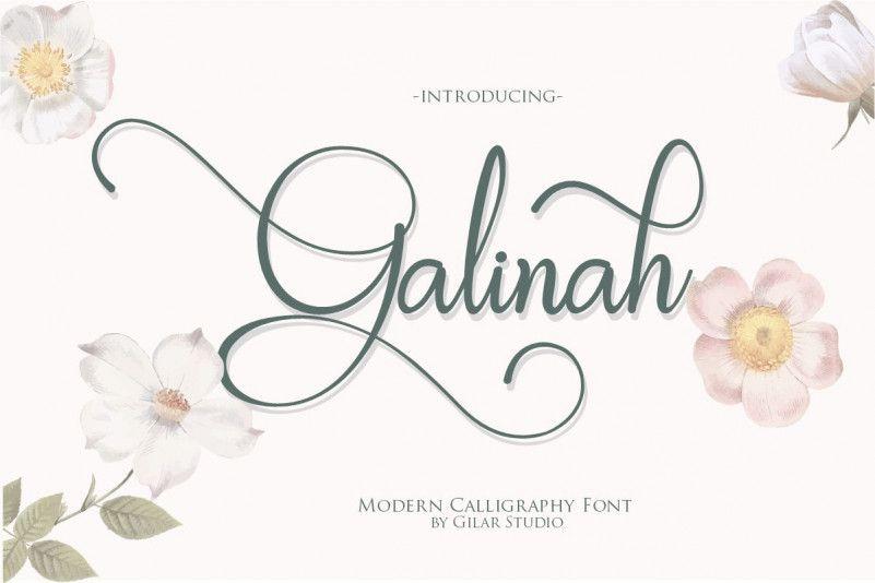 galinah-font