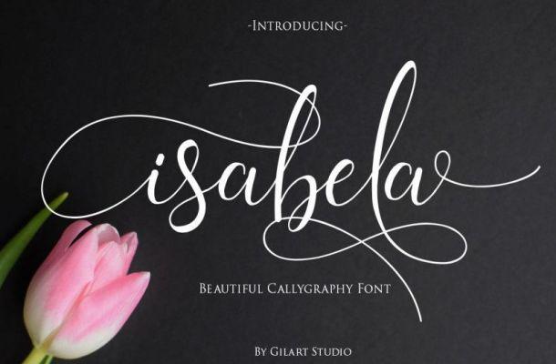 Isabela Calligraphy Font