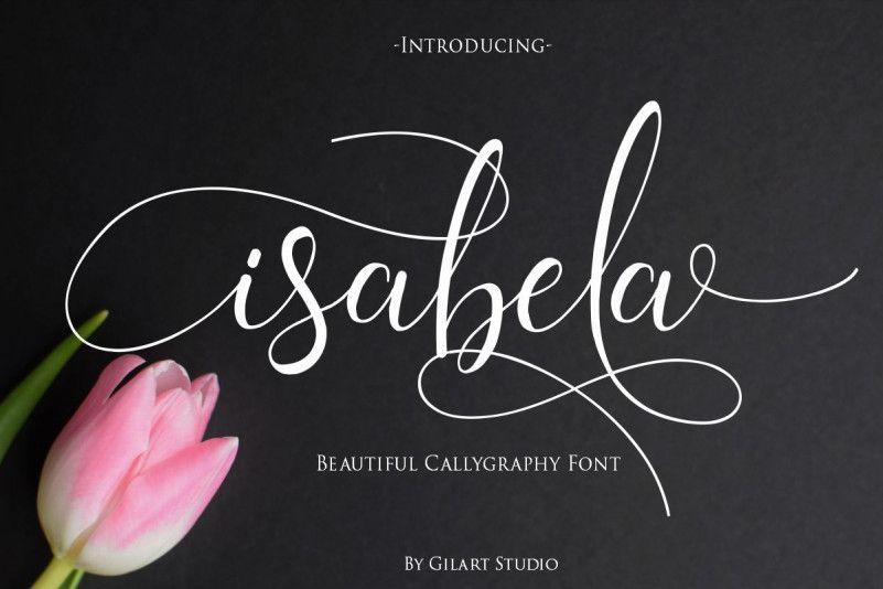 isabela-calligraphy-font