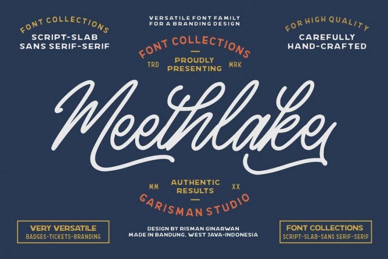meethlake-vintage-font