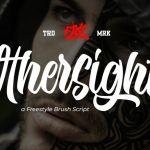 Othersight Script Font