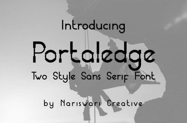 Portaledge Font