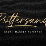 Rottersand Font