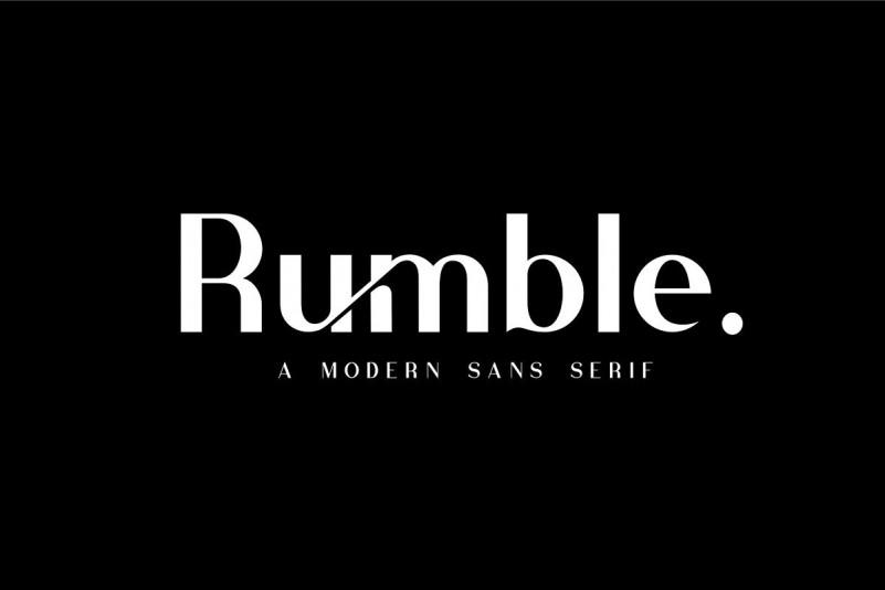 rubmble-font