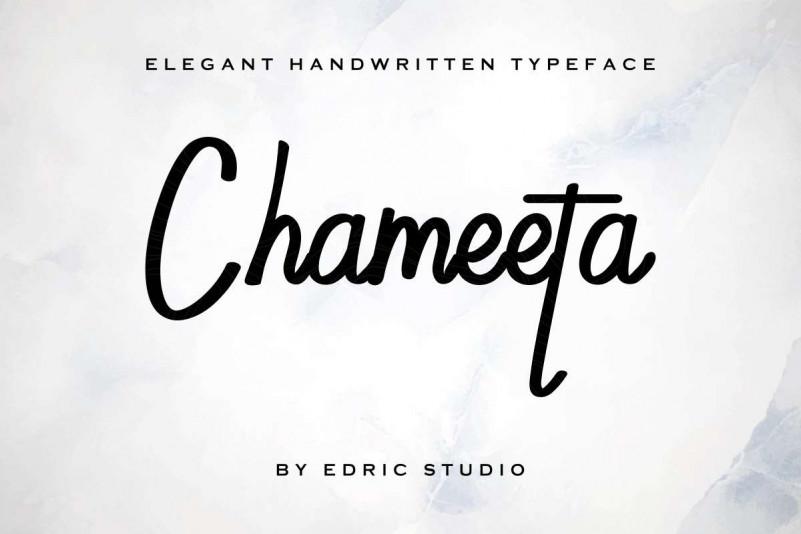 Chameeta Font