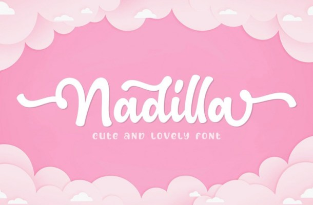 Nadilla Font