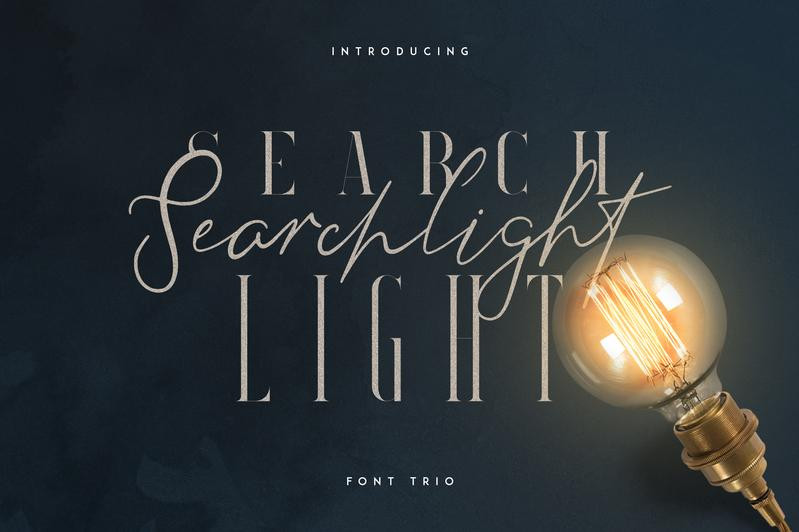Searchlight Font