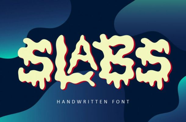 Slabs Fun Display Font