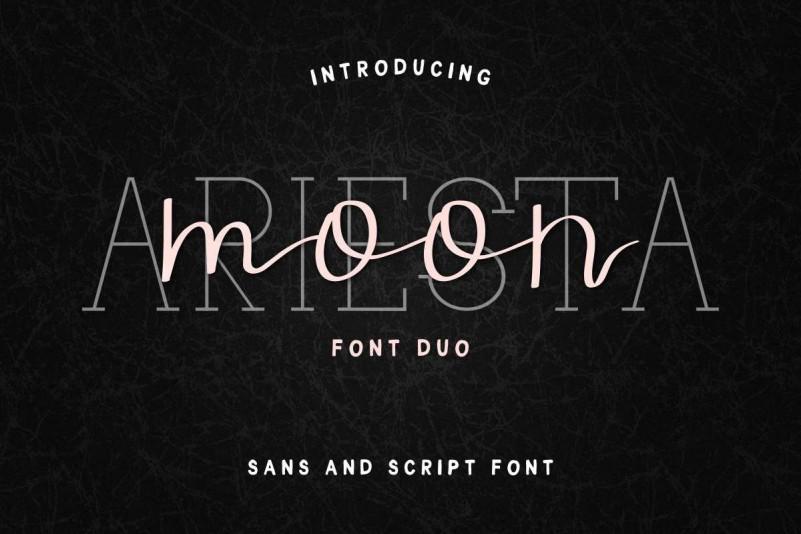ariesta-moon-font