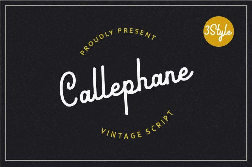 callephane-font