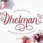 Dhelman Font